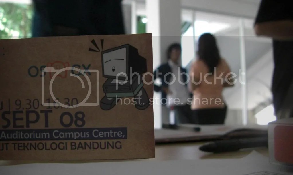 seminar open source, dhika, wulan