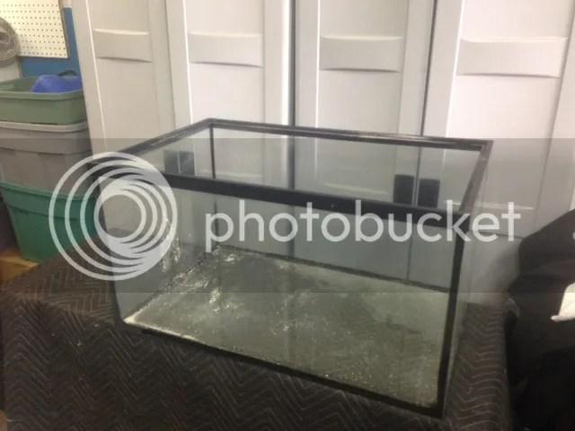 used glass aquariums sump