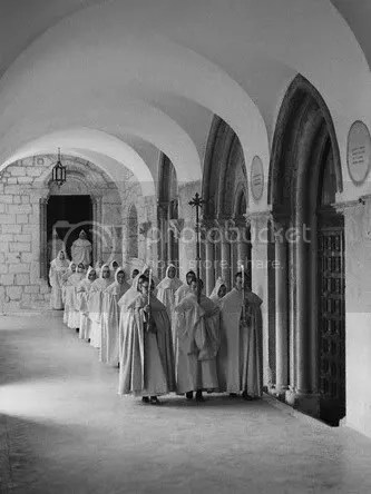 ProcessionofCistercianMonks.jpg picture by kjk76_94