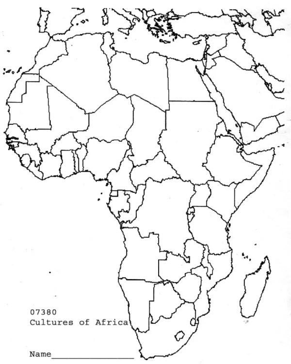 Geography Test Africa see how well you do