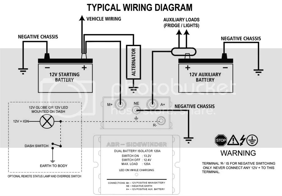 Dual Battery Isolator Wiring Diagram Efcaviation Com