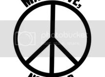 MLNW Black & White Peace Sign Photo by rockynrobyn71 ...
