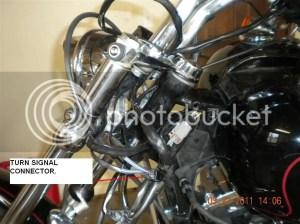 Internal Wiring Sig Lite relocation woes  Harley