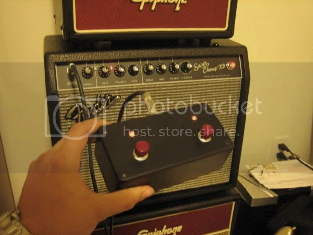 5 Way Fender Super Switch Wiring Diagram Diy Fender Super Champ Xd Footswitch The Gear Page