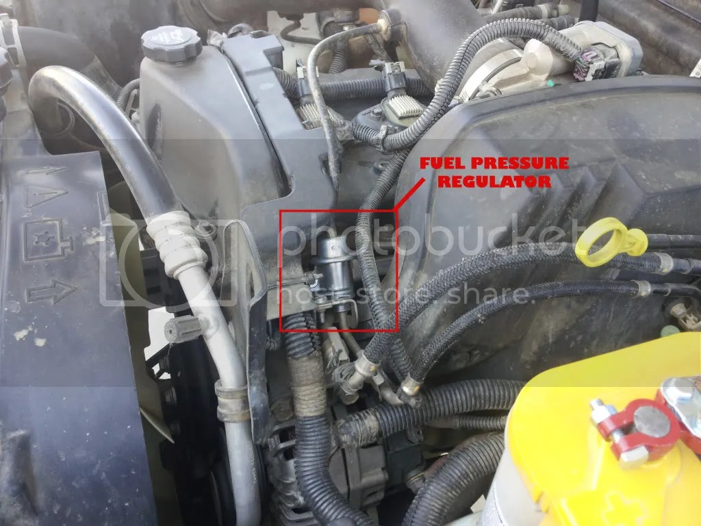 hight resolution of how to install fuel pressure regulator chevrolet colorado gmc canyon forum