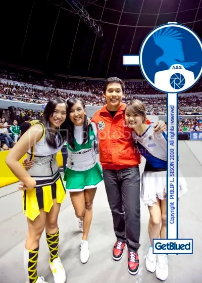 At UAAP Cheerdance Competition