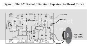 AM Radio Experiment Circuit Unassembed kit 6VDC with free
