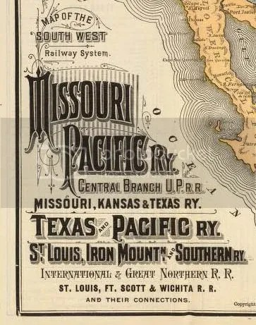 Maps and Trains of the 1880s | Marlena Frank
