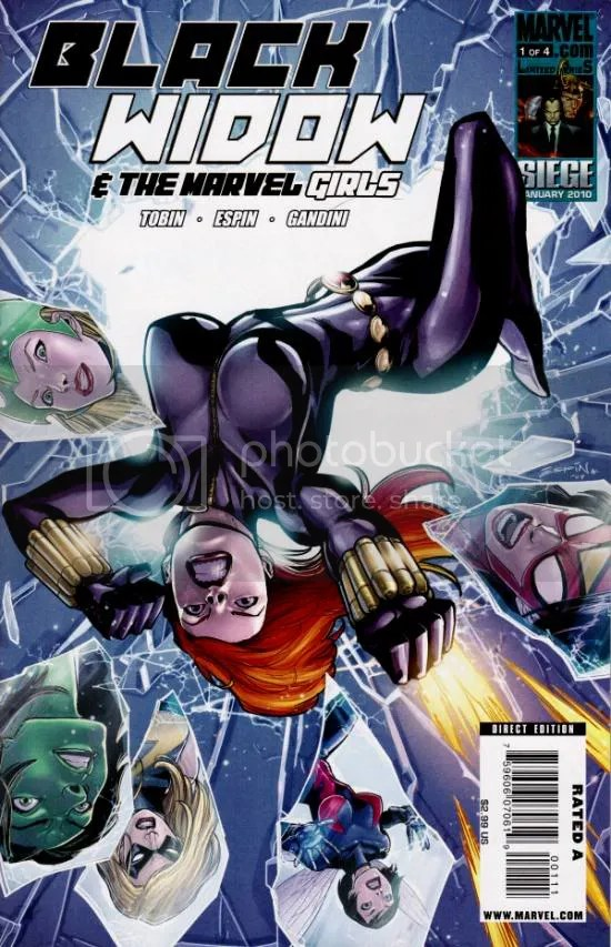Black Widow and the Marvel Girls 1