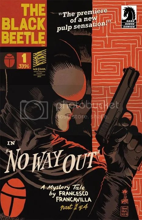 The Black Beetle - Francesco Francavilla; Dark Horse Comics; 2013
