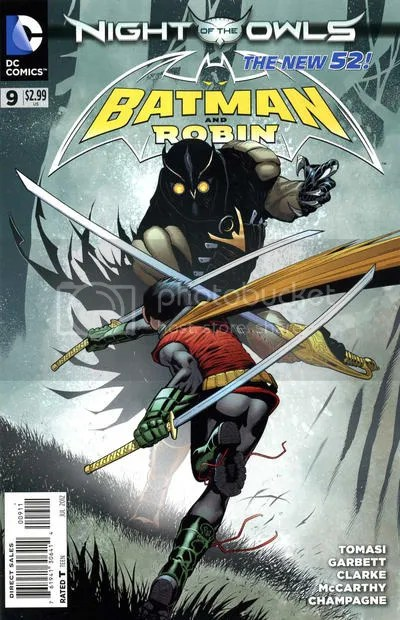 Batman & Robin #9