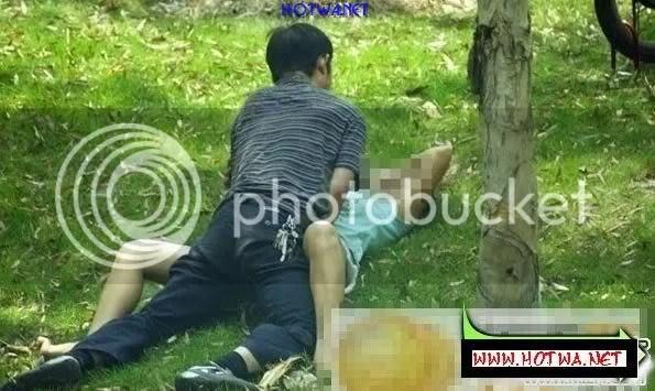 ChupLen 0004 Chụp lén đôi nam nữ làm tình nơi công cộng giữa ban ngày