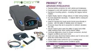 TEKONSHA P2 PRODIGY TRAILER BRAKE CONTROLLER DRAWTITE | eBay