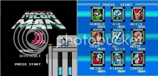 Megaman 2 e seus oito CHEFES MALIGNOS