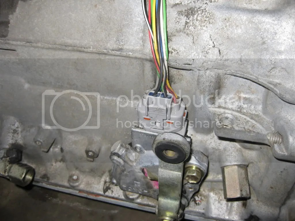 Toyota Automatic Transmission A340e Shift Lock System Wiring Diagram