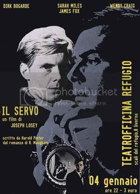 Il Servo - J. Losey - Movie Poster