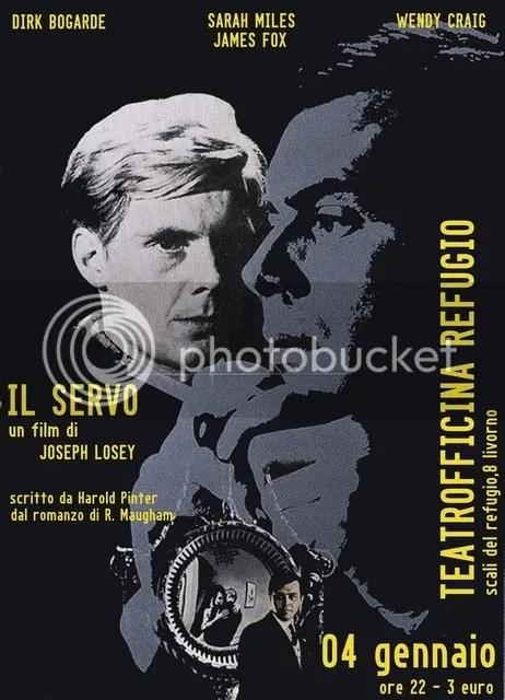 Il Servo - J. Losey - Movie Poster
