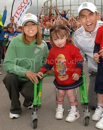 Footballer Phil Neville's daughter proved all the doctors wrong