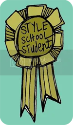 Style School Student Badge