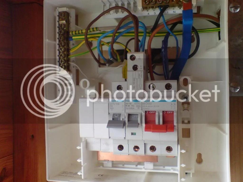 Consumer Unit Wiring Diagram Garage