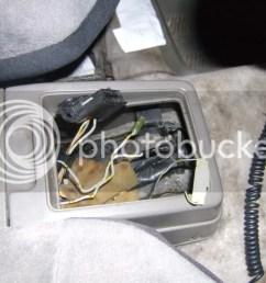the big black connector is a factory gm diagnostic plug for obd1 diagnostic computer [ 1024 x 768 Pixel ]