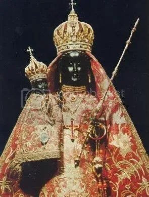 THE BLACK MADONNA AND CHILD