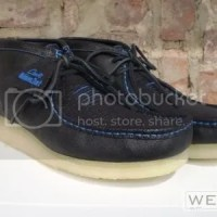 "Clarks Wallabee ""Shark Skin"""