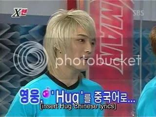 Jae Joong sings Hug for Yunho.