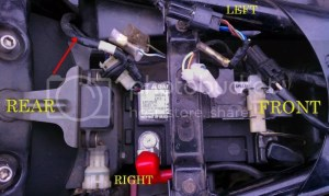 Rear Turn Signal Connection Aftermarket Turn Signals  Kawasaki Vulcan Forum : Vulcan Forums