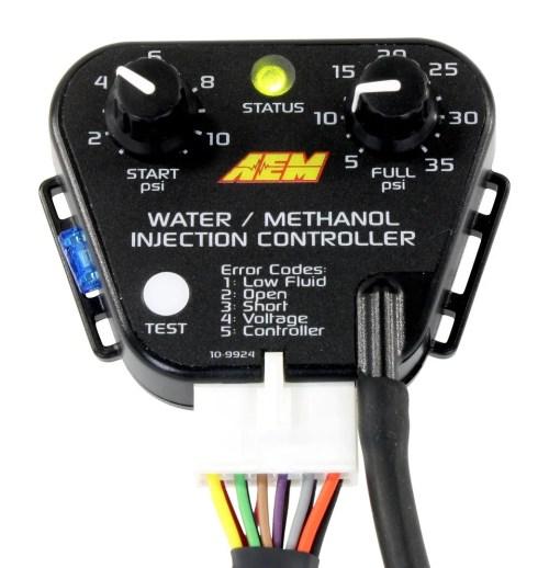 small resolution of genuine aem 30 3300 water methanol injection kit 1 gallon tank v2 w map sensor ebay