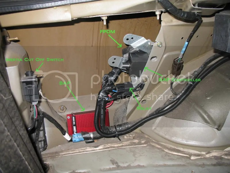 Stock Fuel Pump Wiring Upgrade Modular Fords