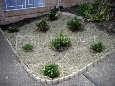 Garden Bed Edging House And Garden Weddings Babies And Life