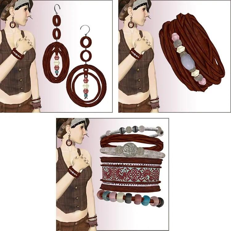 red braid jewelry
