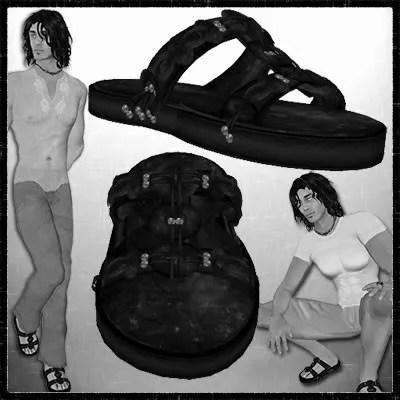 Boho Sandals black