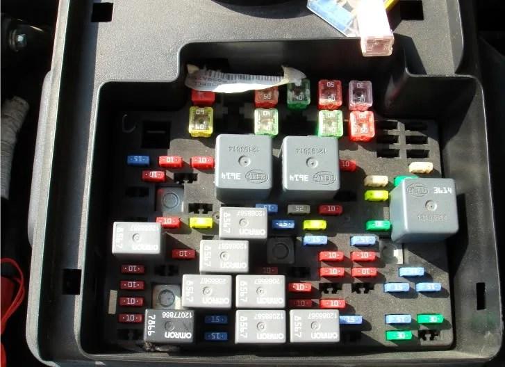 Chevy 2003 Box Silverado Fuse