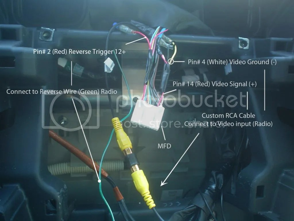 toyota head unit wiring diagram 2003 chevy tahoe stereo rosen factory look nav page 11