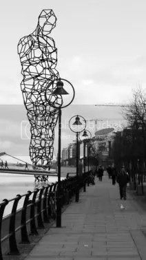 Antony Gormley Dublin Sculpture