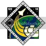 STS 122 crew insignia