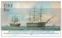 Trans Atlantic Cable Stamp
