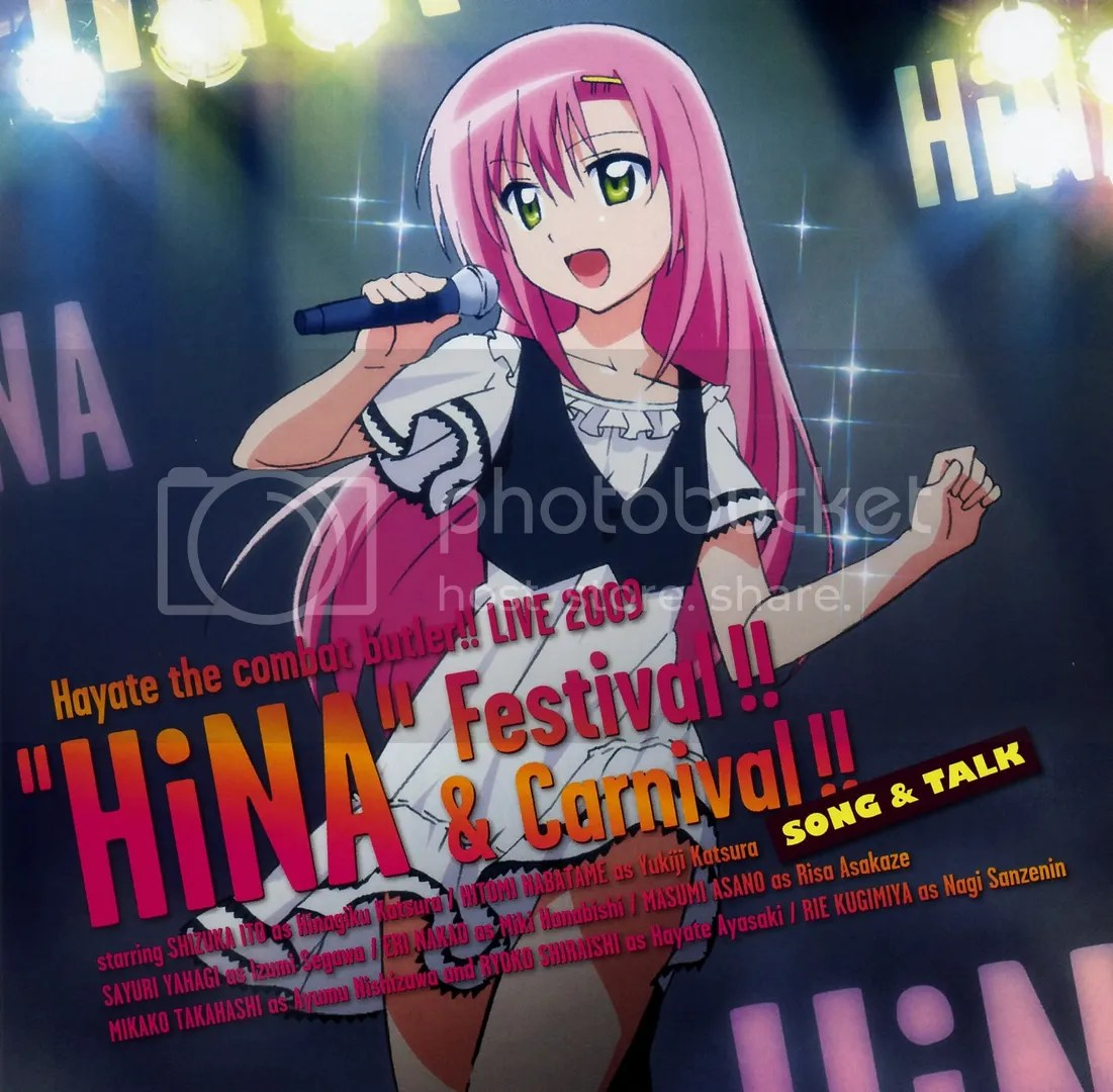 Hayate the combat butler!! LIVE 2009 HiNA Festival!! & Carnival!!