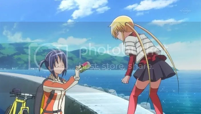 Imitating Hinagiku and Hayate, are we?