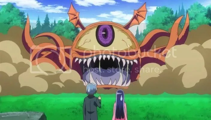 Congratulations! Your MONSTER evolved into BIGGER MONSTER!