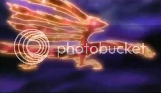 Savior Star Dragon becoming the Crimson Dragon.