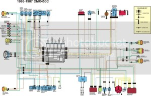 Honda rebel 250 electrical schematic