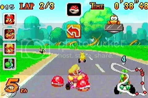 A prime GBA racer