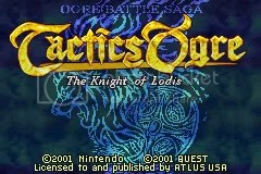Tactics Ogre The Top 20 Game Boy Games of All Time: #20-16 The Top 20 Game Boy Games of All Time: #20-16 16TacticsOgreTitle
