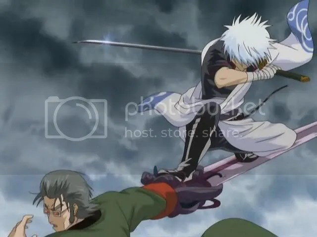 Image result for gintoki fight