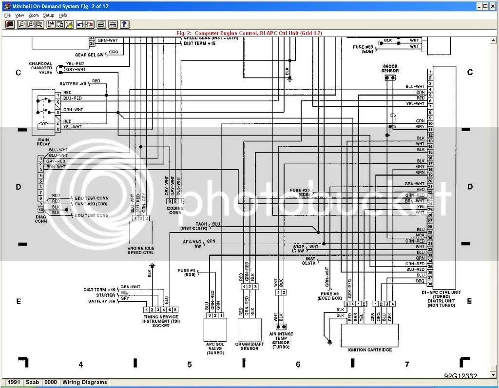 saab ng900 radio wiring diagram