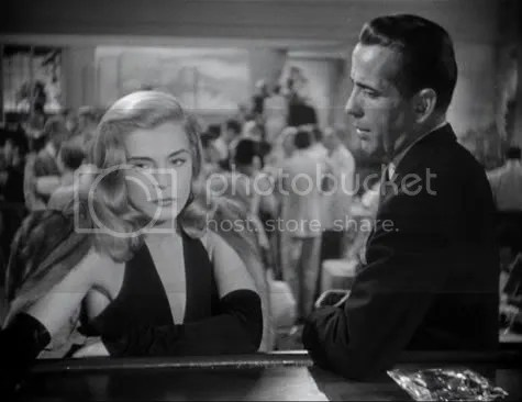 Lizabeth Scott & Humphrey Bogart in Dead Reckoning.