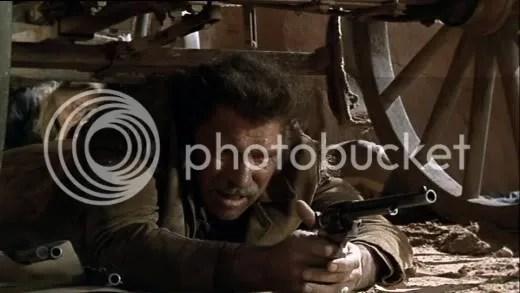 Boxed in - Burt Lancaster in Ulzana's Raid.